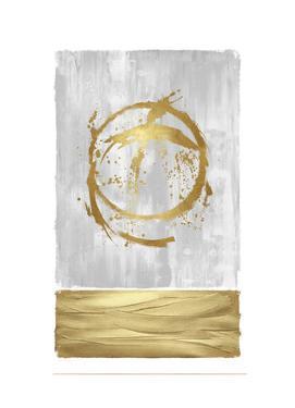 Inward Gold I by Natalie Harris
