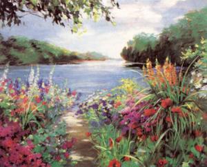 Lake Path by Natalie Levine