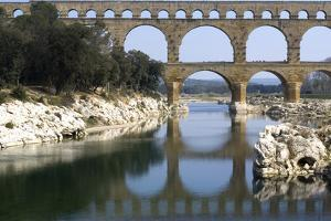 Pont Du Gard, Roman Aqueduct from Ad 1st Century, Near Vers, Gard, France by Natalie Tepper