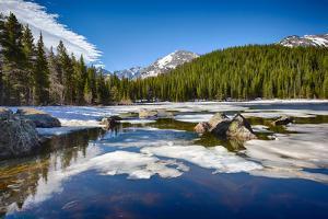 Bear Lake at the Rocky Mountain National Park, Colorado, USA by Nataliya Hora