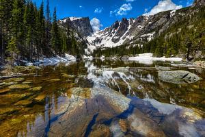 Dream Lake at the Rocky Mountain National Park, Colorado, USA by Nataliya Hora