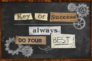 Do Your Best - Key Of Success by NatanaelGinting
