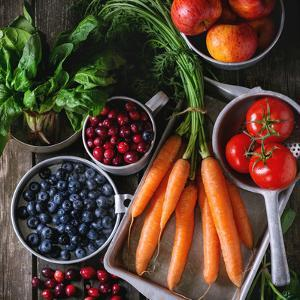 Mix of Fruits, Vegetables and Berries by Natasha Breen