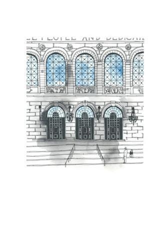 Boston Public Library by Natasha Marie