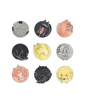 emoji cats by Natasha Marie