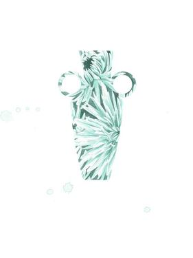 Floral Vase 1 by Natasha Marie