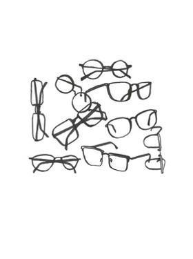 Glasses Jumble 1 by Natasha Marie