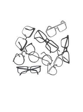 Glasses Jumble 2 by Natasha Marie