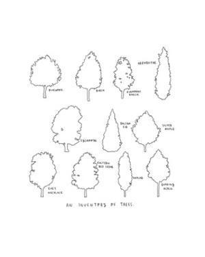 inventory of trees by Natasha Marie