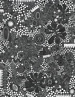 Monochrome Spots 1 by Natasha Marie