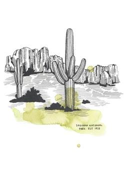 Nation Park Saguaro by Natasha Marie