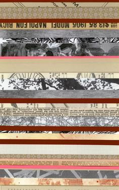 Paper Strip Collage a - Recolor by Natasha Marie