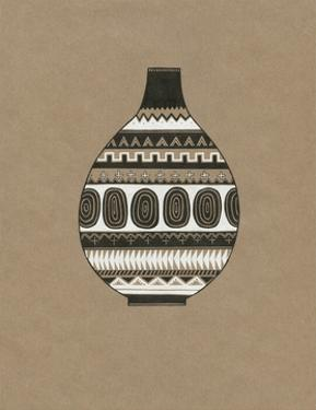 Tribal Vase 1 by Natasha Marie