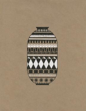 Tribal Vase 2 by Natasha Marie
