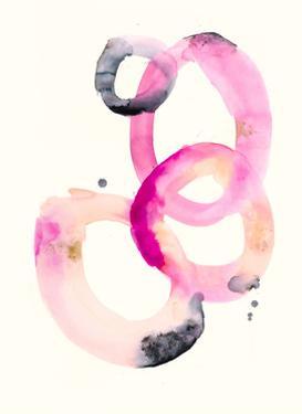 Watercolor Oval 1 by Natasha Marie