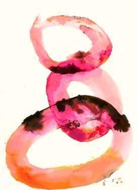 Watercolor Oval 2 by Natasha Marie