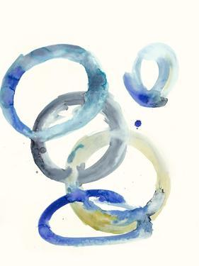 Watercolor Oval 4 by Natasha Marie