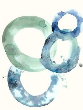 Watercolor Oval 5 by Natasha Marie