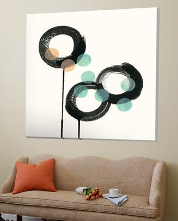 Zen Circles D by Natasha Marie
