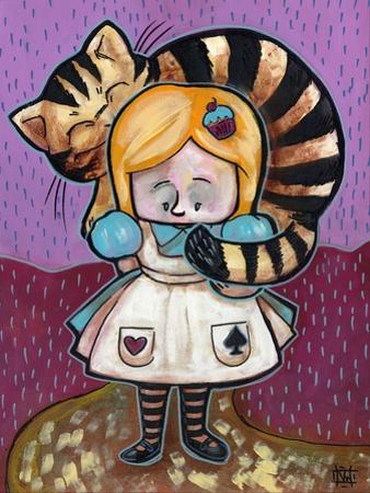 Alice and The Cheshire Cat by Natasha Wescoat