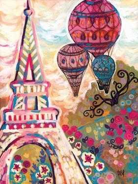 Ballons Sur Paris by Natasha Wescoat