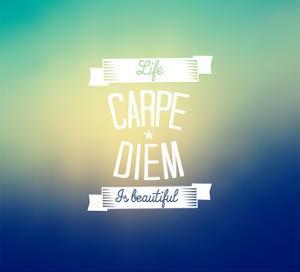 Carpe Diem - Blurred Background by natashasha