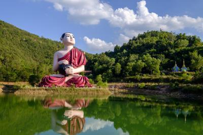 Buddha Win Sein, Mawlamyine (Moulmein), Myanmar (Burma), Asia by Nathalie Cuvelier