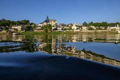 Candes Saint Martin, confluence of Loire and Vienne River, Loire Valley, UNESCO World Heritage Site by Nathalie Cuvelier