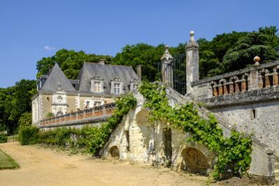 Castle and Gardens of Valmer, Indre et Loire, Centre, France, Europe by Nathalie Cuvelier