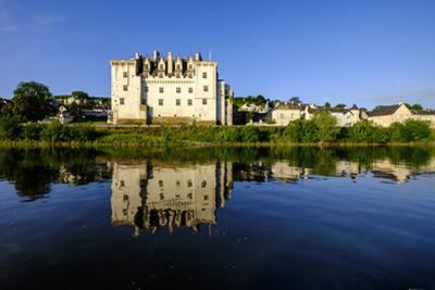 Castle of Montsoreau, dated 15 th. century, along the Loire River, UNESCO World Heritage Site, Anjo by Nathalie Cuvelier