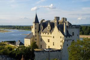 Castle of Montsoreau, dated 15th century, along the Loire River, UNESCO World Heritage Site, Anjou, by Nathalie Cuvelier