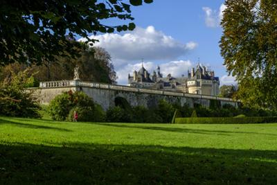 Castle of the Lude (Chateau du Lude), dated from 14th to 17th century, Le Lude, Sarthe, Pays de la  by Nathalie Cuvelier