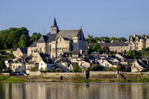Church, Candes Saint Martin, Loire Valley, UNESCO World Heritage Site, Indre et Loire, France, Euro by Nathalie Cuvelier