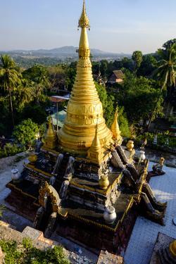 Kyaik Than Lan Pagoda, Mawlamyine (Moulmein), Myanmar (Burma), Asia by Nathalie Cuvelier