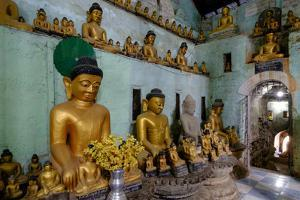 Pagoda of Shittaung, Dated 1535, Mrauk U, Rakhaing State, Myanmar (Burma), Asia by Nathalie Cuvelier