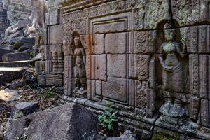 Preah Khan of Angkor, Built in 1191 by King Jayavarman Vii, Angkor by Nathalie Cuvelier