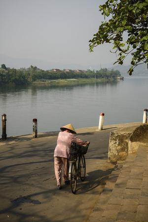 River Bank of Perfume River, Hue, Thua Thien Hue Province, Vietnam, Indochina, Southeast Asia, Asia