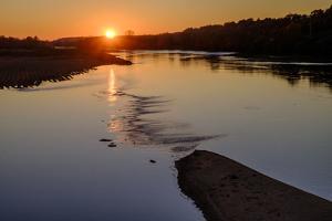 The Loire River, Langeais, Loire Valley, UNESCO World Heritage Site, Indre et Loire, France, Europe by Nathalie Cuvelier
