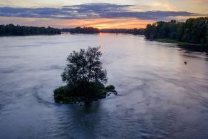 The Loire river, Port-Boulet, Loire Valley, UNESCO World Heritage Site, Indre et Loire, France, Eur by Nathalie Cuvelier