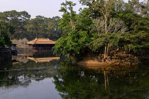 Tomb of Emperor Tu Duc of Nguyen Dynasty, Dated 1864, Pavillon of Xung Kiem, Group of Hue Monuments by Nathalie Cuvelier