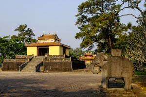 Tomb of the Emperor Minh Mang of Nguyen Dynasty, Pavillon of the Stella, Group of Hue Monuments by Nathalie Cuvelier