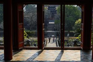 Tomb of the Emperor Minh Mang of Nguyen Dynasty, the Light Pavillon, Group of Hue Monuments by Nathalie Cuvelier