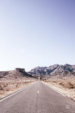Dusty Desert Dreams Road by Nathan Larson