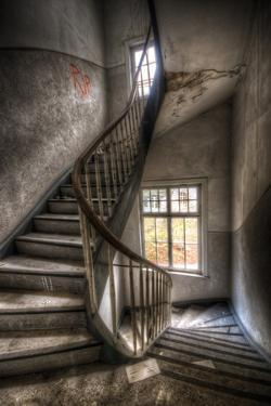 Abandoned Building Interior by Nathan Wright