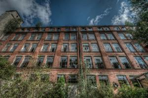 Abandoned Factory Building by Nathan Wright