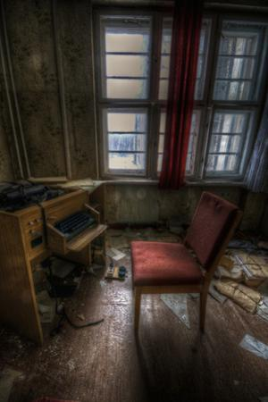 Abandoned Office Interior by Nathan Wright