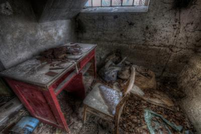 Abandoned Room Interior by Nathan Wright