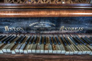An Old Piano by Nathan Wright