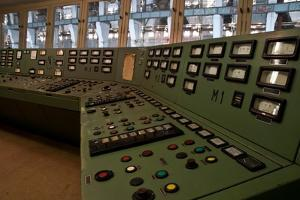 Controls in a Power Station by Nathan Wright