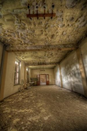 Derelict Building Interior by Nathan Wright